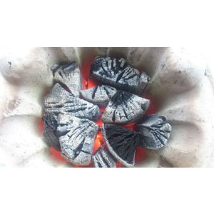 岩手 木炭  堅一級 ナラ 切炭 6kg なら バーベキュー BBQ|papyrus-two|04