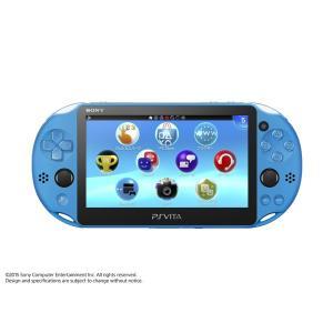 新品 PSVita PlayStation Vita (プレイステーション ヴィータ) 本体 Wi‐Fiモデル アクア・ブルー (PCH-2000ZA23)
