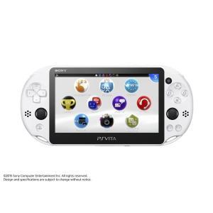 新品 PSVita PlayStation Vita (プレイステーション ヴィータ) 本体 Wi‐Fiモデル グレイシャー・ホワイト (PCH-2000ZA22)