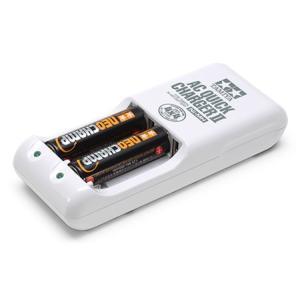 ミニ四駆/サプライ 単3形ニッケル水素電池ネオチャンプ(2本)と急速充電器II (55115)