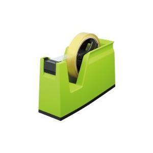 コクヨ (T-SM100G) テープカッター<カルカット> グリーン 大巻き・小巻きテープ両用|papyruscompany