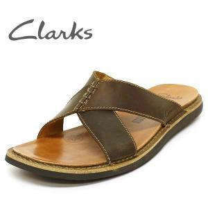 クラークス CLARKS メンズ サンダル レザー 革 靴 シューズ  セール Lynton Eazy