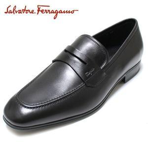 フェラガモ FERRAGAMO  靴 メンズ ローファー ビジネスシューズ CORRADO paradis