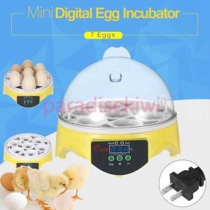 孵卵器 インキュベーター ふ卵器 孵化器 7個 自動温度調節 シンプル 簡単操作 孵卵機 ふ卵器 大...