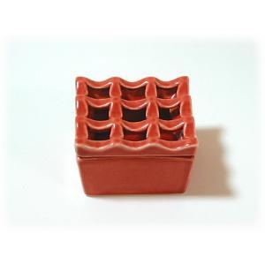 ジェンガラ ケラミック食器/JENGGALA/ スクエア 灰皿 C-1473-2160|paradox-crafts