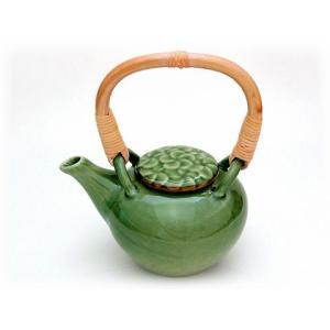 ジェンガラ ケラミック食器/JENGGALA/ Frangipani Tea Pot C-2085-147-CL|paradox-crafts