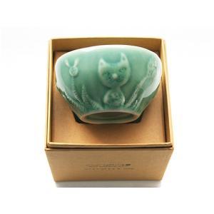 ジェンガラ ケラミック食器/JENGGALA/ ボウル TOMOKO KONNO Bowl Cat C-2754-TCC|paradox-crafts