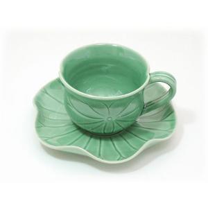 ジェンガラ ケラミック食器/JENGGALA/ ロータス コーヒーカップ HC-077-R-1138-TCC|paradox-crafts