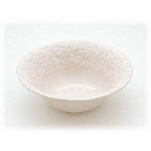 ジェンガラ ケラミック食器/JENGGALA/ プレーン フランジパニ ボウル R-1939-2330|paradox-crafts