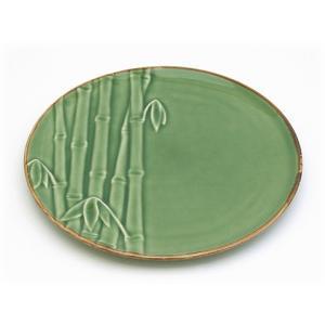 ジェンガラ ケラミック食器/JENGGALA/ Bamboo Dessert Plate|paradox-crafts