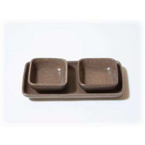 ジェンガラ ケラミック食器/JENGGALA/ ソース入れ R-806-R-807-99058|paradox-crafts