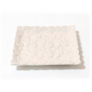 ジェンガラ ケラミック食器/JENGGALA/ フランジパニ プレート R-998-2330|paradox-crafts