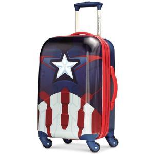 キャリーバッグ アメリカンツーリスター アベンジャーズ キャプテン・アメリカ スピナー ハード 機内持込み American Tourister disney_y|paranino-formalstyle