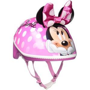 自転車用ヘルメット ベビー 幼児用 ディズニー ミニーマウス 3D 子供用 ヘルメット 1歳 2歳 3歳 反射板付き BELL disney_y|paranino-formalstyle
