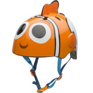 ベル 子供 ヘルメット プロテクター ディズニー ニモ 3D キッズ ジュニア 自転車 子供用 ヘルメット BELL disney_y|paranino-formalstyle