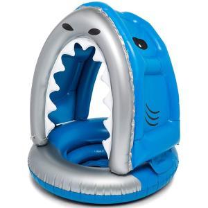浮き輪 ビッグマウス ベビー フロート 屋根付き サメ 赤ちゃん 1歳から 幼児 子供用 フロート ...