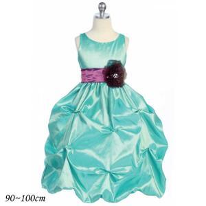半額クーポン対象/ 子供 ドレス 90-100cm ジェード ラフレシア フォーマル ウェア|paranino-formalstyle