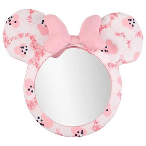 P2倍・12月15日限定/ ベビーミラー ディズニー ミニーマウス 車内 カー用品 チャイルドミラー...