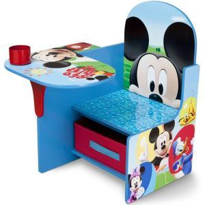 ミッキーマウス デルタ チェアーデスク 一体型 テーブル 机 子供用家具 子供部屋 Delta ディズニー|paranino-formalstyle