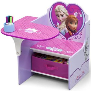 アナと雪の女王 デルタ チェアーデスク 一体型 テーブル 机 子供用家具 子供部屋 Delta ディズニー disney_y|paranino-formalstyle