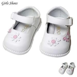 在庫一掃セール/ フォーマル靴 女の子 9.5-10.5cm ホワイト シューズ|paranino-formalstyle