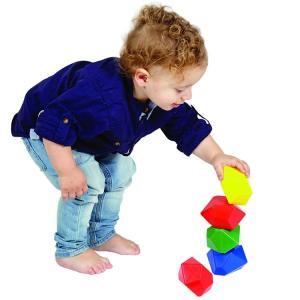 ジェム ブロック 20個セット 2歳から おもちゃ 知育玩具 子ども 積木 幾何学形 edushape|paranino-formalstyle