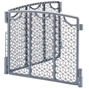 ベビーゲート プレイスペース ゲート拡張 2パネル バーサタイル イーブンフロー グレー evenf...