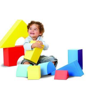 エドシェイプ ジャイアント カラーブロックス 0歳から 大きい 積木 大型 おもちゃ 遊具 16pc...
