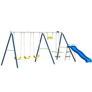 9月28日入荷予約販売/ ブランコ ファンタスティックファン スイングセット 大型遊具 滑り台 /配送区分C|paranino-formalstyle