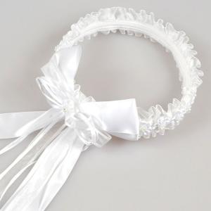 クリアランス売りつくし/ フラワーティアラ 花冠 フォーマルヘアアクセサリー 婦人 子供用 ホワイト 結婚式 フラワーガール|paranino-formalstyle