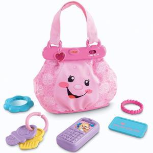フィッシャープライス ラーニング ハンドバッグ ベビー 赤ちゃん おもちゃ フィッシャープライス W9738|paranino-formalstyle