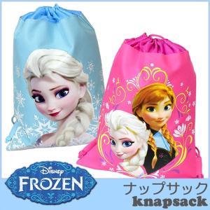 子ども ナップサック 体操着入れ ディズニー アナと雪の女王 子ども 織布 リュック バックパック disney_y|paranino-formalstyle