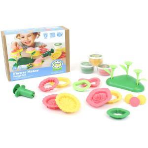 こむぎねんど 道具 フラワーメーカー 粘土 お店屋さん セット Green toys|paranino-formalstyle