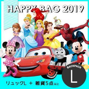 福袋 キッズ 2019 ディズニー キャラクター ハッピーバッグ (バックパック L) HAPPY BAG|paranino-formalstyle