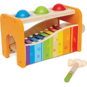 知育玩具 パウンドアンド タップ ベンチ 1歳から Hape ハペ|paranino-formalstyle