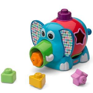 知育玩具 ジャンボ エレファント シェイプ ソーター 1歳から インファンティーノ|paranino-formalstyle