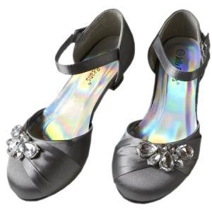 フォーマル 靴 女の子 18-23cm グレー シューズ|paranino-formalstyle