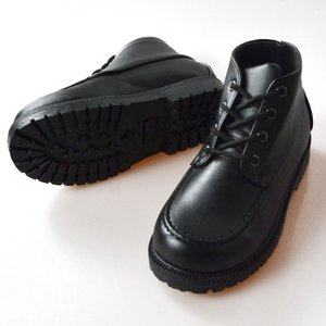 フォーマル 靴 男の子 17-23.5cm ブラック ショートブーツ|paranino-formalstyle