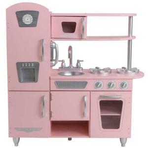 おままごと キッチン 木製 ピンク ビンテージ キッチン キッドクラフト kidkraft|paranino-formalstyle