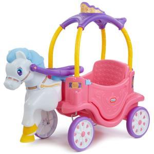 乗用玩具 足けり リトルタイクス プリンセス フォース キャリッジ 1歳半から /配送区分A|paranino-formalstyle