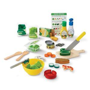7月27日入荷予約販売/ ままごと サラダセット 3歳から おもちゃ メリッサ&ダグ ままごとセット 木製|paranino-formalstyle