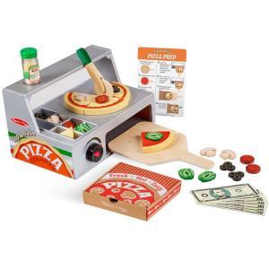 ままごと ピザ カウンター セット 3歳から おもちゃ メリッサ&ダグ ままごとセット 木製 Melissa&Doug|paranino-formalstyle