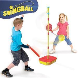 ジュニア スウィングボール アウトドア スポーツ テニス おもちゃ 遊具 ラケットゲーム  (DM便不可)|paranino-formalstyle