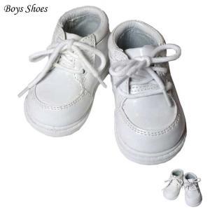 在庫一掃セール/ フォーマル靴 男の子 9.5-11.5cm ホワイト ブラック シューズ|paranino-formalstyle