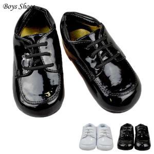 フォーマル靴 男の子 11.5-15.5cm ホワイト ブラック シューズ|paranino-formalstyle