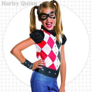 ハーレークイン コスチューム 120-150cm 女の子 かわいい ハロウィン 仮装 子供 衣装 コ...