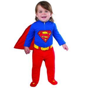 スーパーマン ロンパース コスチューム 60-80cm 男の子 女の子 ベビー ルービーズ ハロウィ...