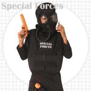 軍隊 警察官 警察 ミリタリー ヒーロー コスチューム 105-150cm 男の子 ハロウィン 仮装 子供 衣装 コスプレ|paranino-formalstyle
