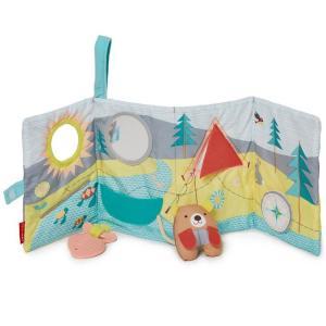 スキップホップ 歯固め ぬいぐるみ おもちゃ 布おもちゃ キャンピングカブ ソフト アクティビティブック skiphop|paranino-formalstyle