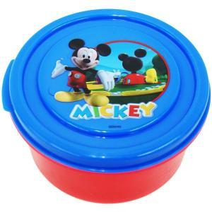 ミッキーの可愛いコンテナです。  幼稚園や、保育園のお弁当箱に!!   スナックや、フルーツ入れとし...